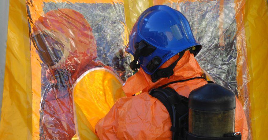 Equipement d'équipier risques chimiques