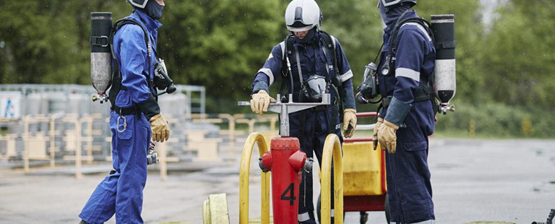 Exercice ESI par Ifopse Centre de formation sécurité en entreprise & incendie