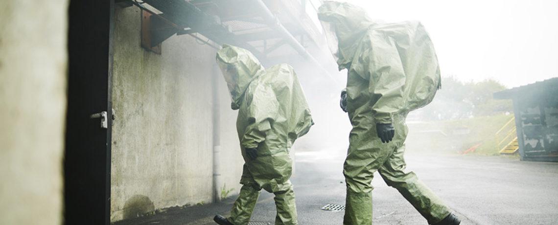 Formation exercices risques chimiques par Ifopse Centre de formation sécurité en entreprise & incendie