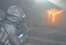 Intervention sur un départ d'incendie