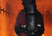 Intervention sur incendie lors du CFBT 3