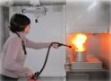 Intervention sur un départ de feu en cuisine