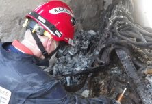 Simulation d'incendie pour une étude post-incendie RCCI