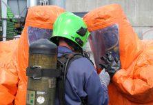 Equipement de sécurité pour un accident chimique