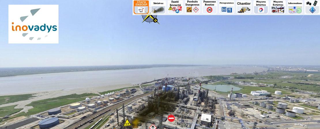 Capture d'écran du logicile SécruRévi par Ifopse organisme de formation incendie et gestion de crise